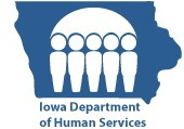 This the logo for the state of iowa department of human resources
